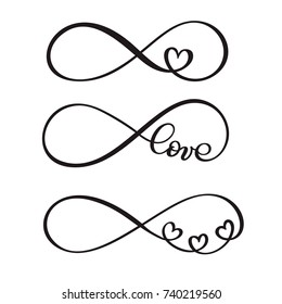 Infinity Tattoo Stock Illustrations Images Vectors