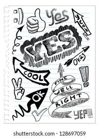 set yes sketchs
