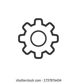 Setting or function icon design. Website, user interface or application icon. Vector illustration.