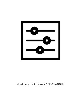 Setting icon Vector illustration, EPS10.