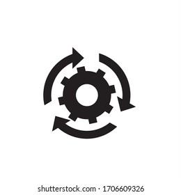setting icon,cog industrial tehnologi designgear mecanism illustration