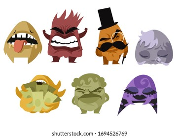 seven deadly sins cartoon characters