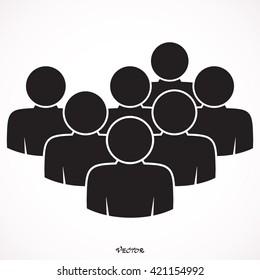 Seven people logo friends.