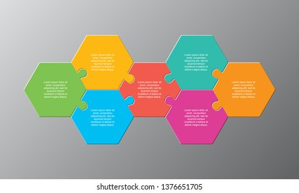 7 Puzzle Piece Stock Vectors, Images & Vector Art | Shutterstock