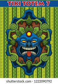 Seventh vector file pack based on free style design of tiki masks of excellent quality.  Ideal for banner designs, t-shirts, advertising, internet, avatars designs, etc.