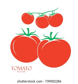 Several Red Tomatoes