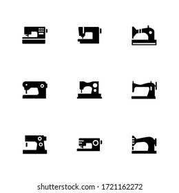 sewing icon or logo isolated sign symbol vector illustration - Collection of high quality black style vector icons