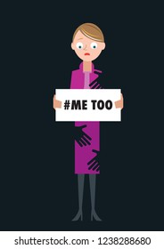 Sexual harassment # hashtag me too movement