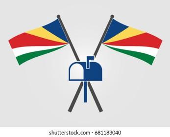 Seychelles Emblem Mailbox