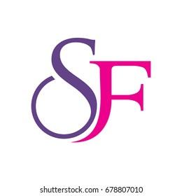 SF Initials Logo