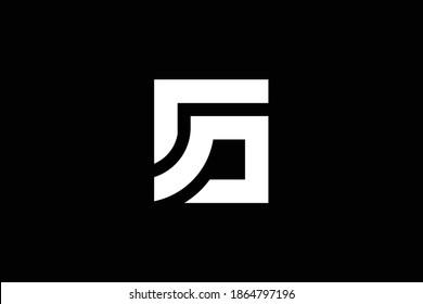 SG letter logo design on luxury background. GS monogram initials letter logo concept. SG icon design. GS elegant and Professional white color letter icon design on black background. G S