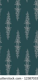 shabby abstract damask seamless vector victorian pattern wallpapper