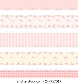shabby chic. provence style. 5 backgrounds