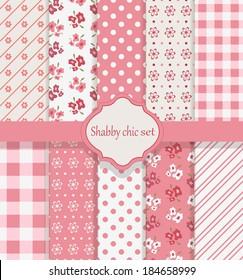 Shabby chic set
