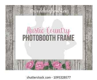 Wedding Photo Booth Frame Stock Vectors, Images & Vector Art