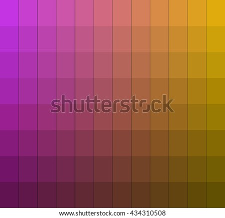 Shades Colors Chart Box Vector Pantone Stock Vector Royalty Free