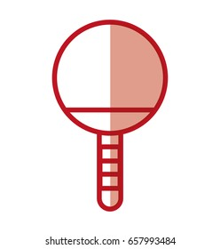 shadow Ping pong racket
