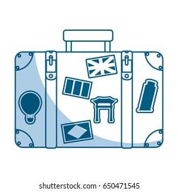 shadow suitcase cartoon