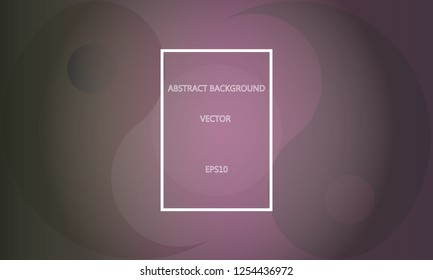 Shadowy Yin Yang Background with central space