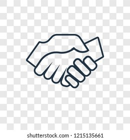 Hand Shake Png Images Stock Photos Vectors Shutterstock See more ideas about handshake logo, logos, hand logo. https www shutterstock com image vector shake hands concept vector linear icon 1215135661