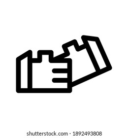 Shake Hands icon or logo isolated sign symbol vector illustration - high quality black style vector icons