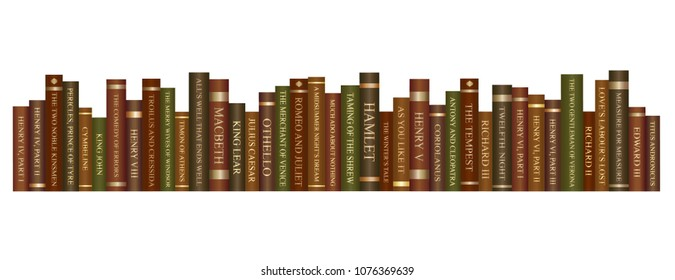 Shakespeare book set- Entire play collection