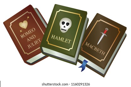 Shakespeare play books - Romeo and Juliet , Hamlet and Macbeth