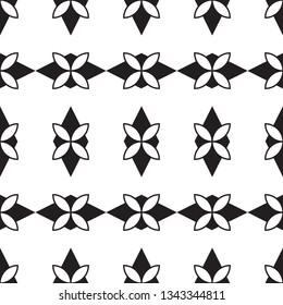 shameless abstract flower geometry vector pattern