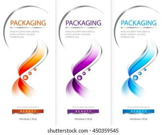 Shampoo bottle template design vector illustration.