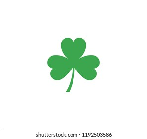 Shamrock leaf icon. Shamrock icon.