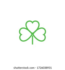 Shamrock  Logo Template vector symbol nature