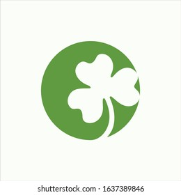 Shamrock Logo Vector Icon Template Design Premium Quality