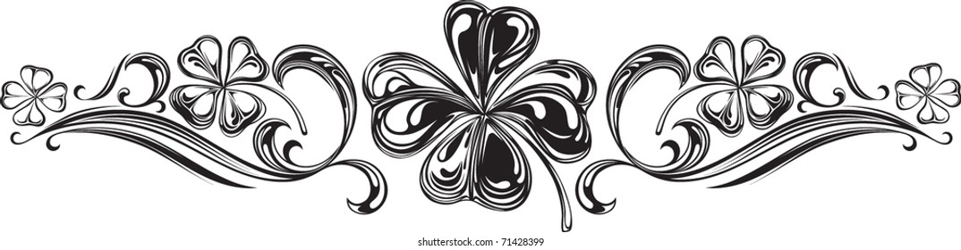 Shamrock Scroll