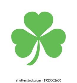 Shamrock St Patrick Irish symbol vector