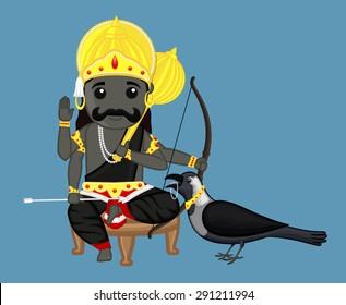 Shanidev - Indian God