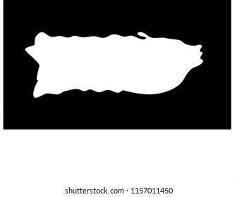 Shape of Puerto Rican