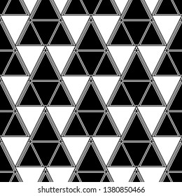 Shapes backdrop. Geometrical figures wallpaper.Triangles, rhombuses, parallelograms, trapeziums pattern. Geometric background. Digital paper, abstract. Seamless ornament.
