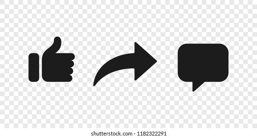 comment icon images stock photos vectors shutterstock https www shutterstock com image vector share comment thumb vector button icons 1182322291