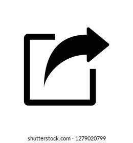 share icon symbol vector
