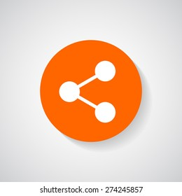 Share icon - Vector