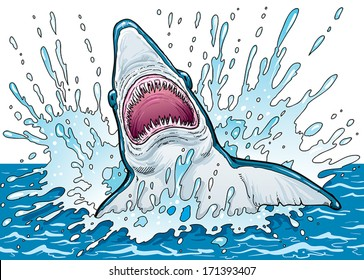 Ilustraciones, imágenes y vectores de stock sobre Sharks