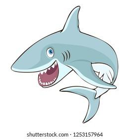 Shark Jumping Images, Stock Photos & Vectors   Shutterstock