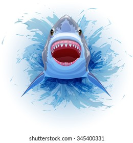 Shark Mouth Images, Stock Photos & Vectors | Shutterstock
