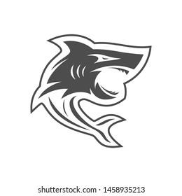 Shark Logo Design Vector. Sharks Logo for a club or sport team