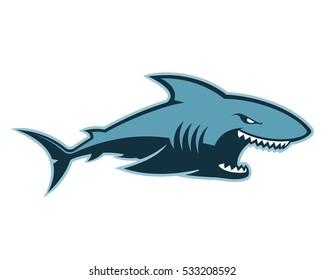 Shark logo mascot
