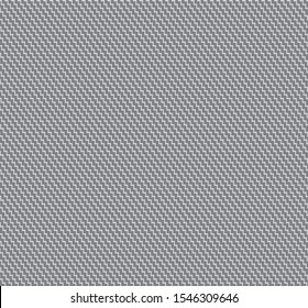 Shark skin fabric pattern in gray color. Diagonal zig zag seamless textile.