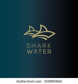 Shark  vector logo