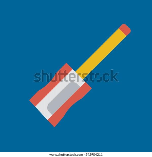 sharpener icon flat disign