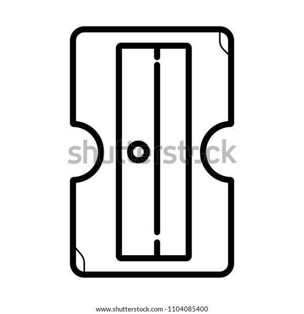 sharpener icon vector
