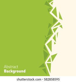 Shattered abstract background. Simple but powerful divider for your poster, full page flyers or banner.